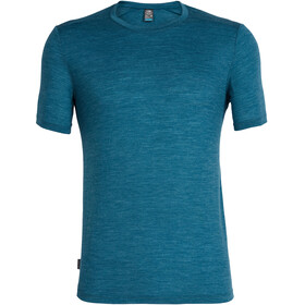 Icebreaker Sphere SS Crewe Shirt Men poseidon heather